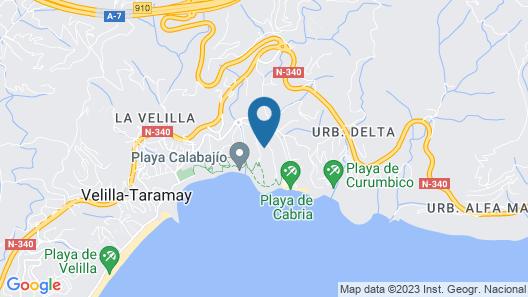 Playacálida Spa Hotel Luxury Map