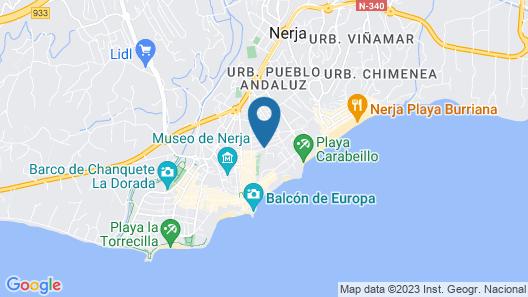 OYO Apartamentos Pepe Mesa Map