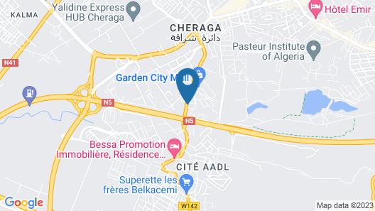 Holiday Inn Algiers - Cheraga Tower, an IHG Hotel Map
