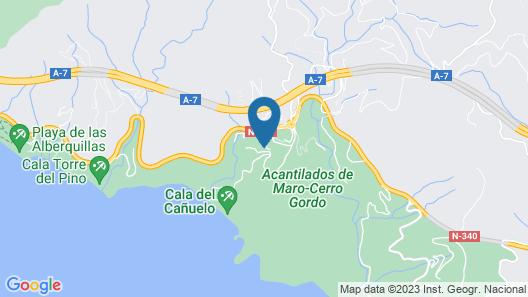 Cortijo la Fuente Map