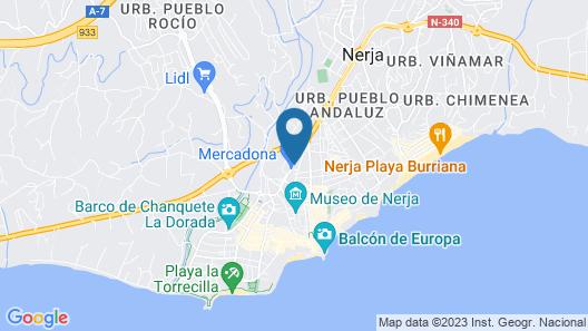 Apartamentos RuiSol Map