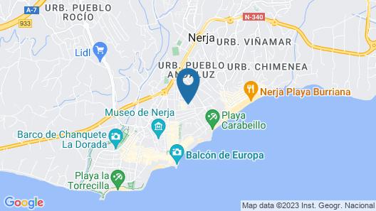 Apartamento Pulguilla E Map