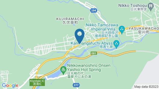 SUDOMARI INN GUESTHOUSE NIKKO - Hostel Map
