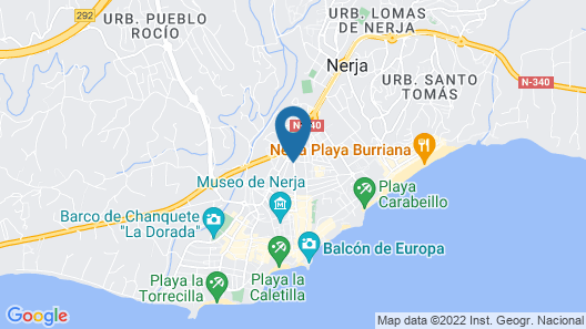 Hostal Boutique Plaza Cantarero Map