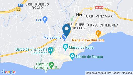 Hostal San Miguel Map