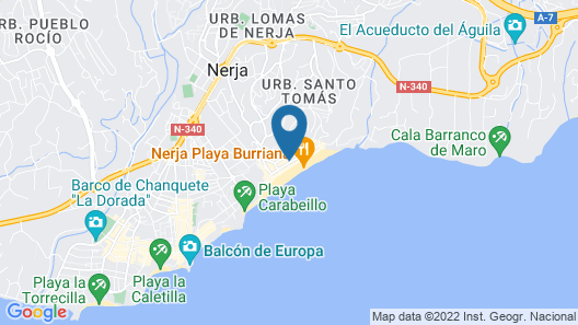 HC Burriana Playa - Apartamentos Turísticos Map
