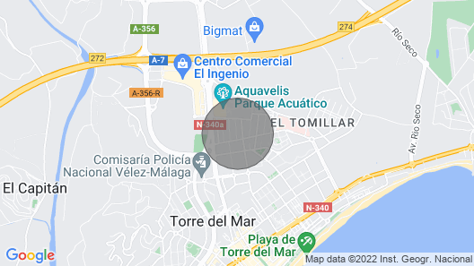 House in Torre DEL MAR Map