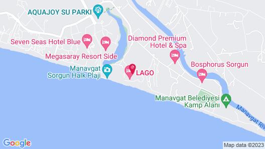 Nashira Resort Hotel & Aqua - Spa - All Inclusive Map