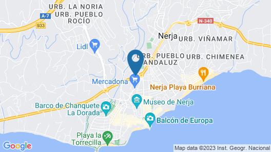 Hostal Azahara Map