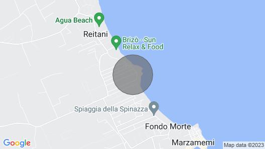 Villa Aurora IN Marzamemi 100 M. From THE SEA Map