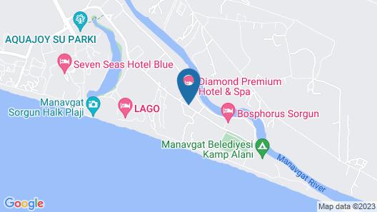 Diamond Premium Hotel & Spa - All Inclusive Map