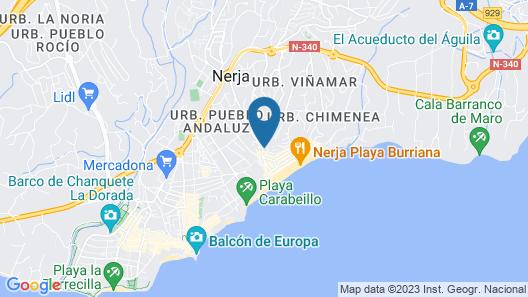 Apartamentos Turísticos Almoraide Map