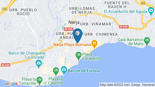 MB Hostels Premium Eco Adult Only Map