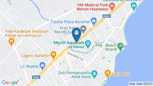 Yucesoy Liva Otel Map