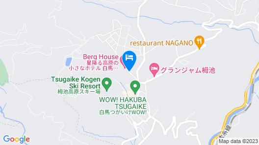 Hakuba Slopeside Chalet Map