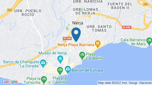 Casa Urbanización Los Pinos 19 Map