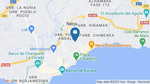Apartamento Urbanización Hacienda 10B Map