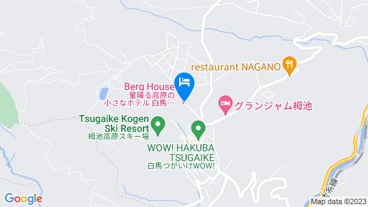Hotel Hakuba Berghaus Map