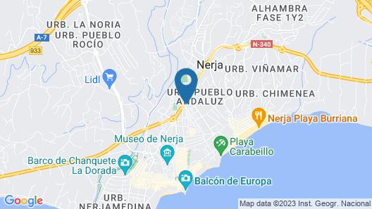 Apartamentos Verano Azul Canovas Nerja Map