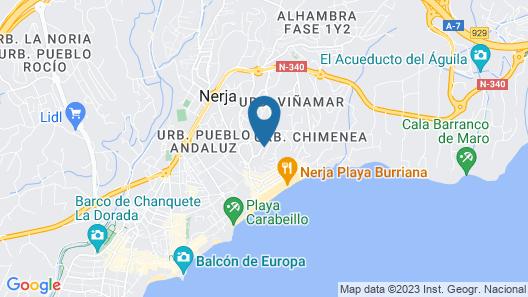 Carmen Rooms Map