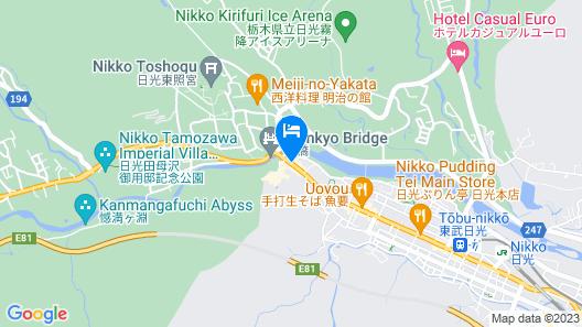 Nikko Tokino Yuu Map