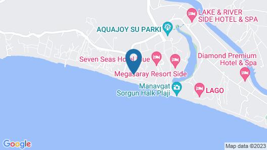 Paloma Orenda Resort - All Inclusive Map
