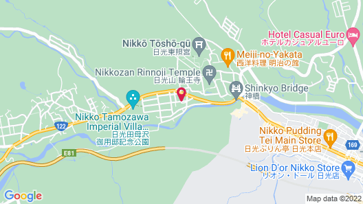 Nikko Senhime Monogatari Map