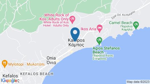 Zeus Hotel Map