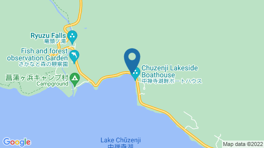 Chuzenji Kanaya Hotel Map