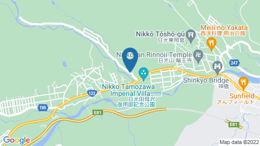 Nikko Green Hotel Natsukashiya Fuwari Map