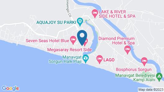 Aska Side Grand Prestige Hotel & SPA  Map