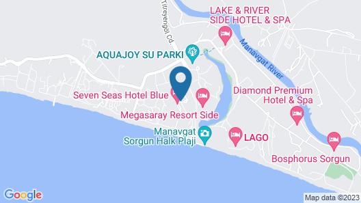 Amara Family Resort Map