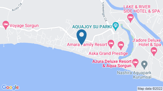 Paloma Finesse All Inclusive Map