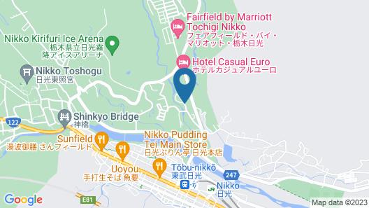 Narusawa Lodge Map
