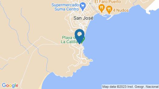 La Villa de Paca. Villazul Cabo de Gata Map
