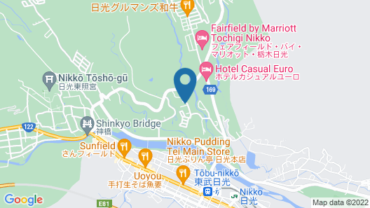 Nikko Park Lodge Mountainside Map