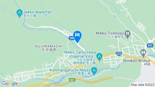 Okunoin Hotel Tokugawa Map