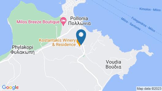 Konstantakis Winery Map