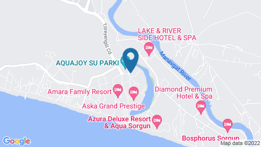 Linda Resort Hotel Map