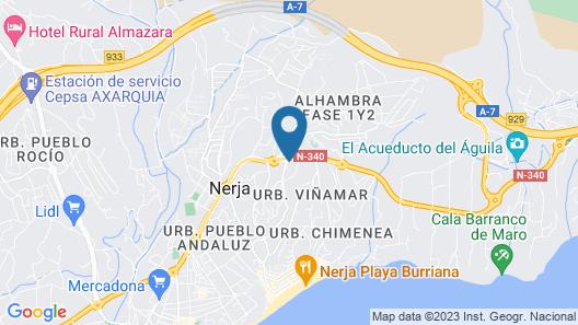 Hotel Los Arcos Map