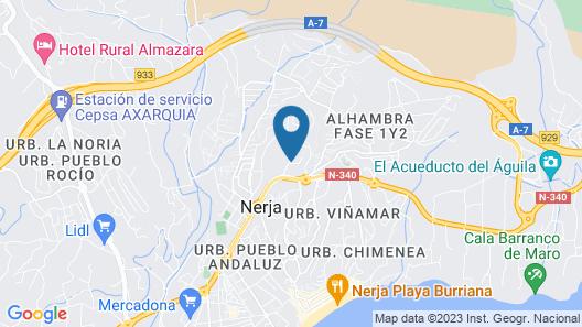 Apartamentos Turísticos Las Rosas de Capistrano Map