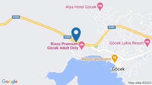 Rixos Premium Göcek Adult Only Map