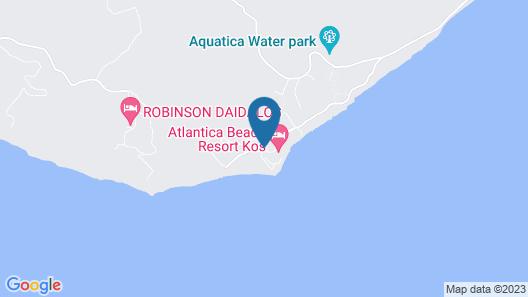 Atlantica Beach Resort Kos - All Inclusive Map