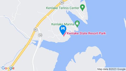 Kenlake State Resort Park Map