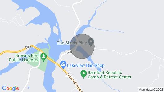 Shady Pine at Barren River Lake ~ Mammoth Cave Map