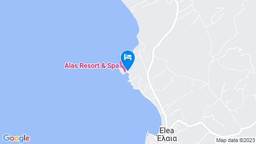 Alas Resort & Spa Map