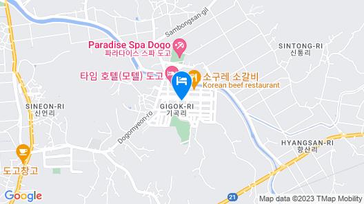 Dogo Calla  Motel Map