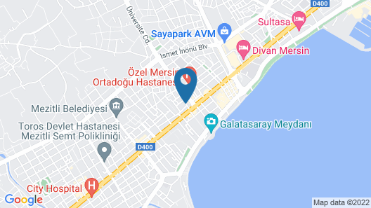 Mersin Vip House Map