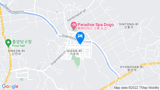 BS Condo Dogo Hot spring Hotel and Resort Map