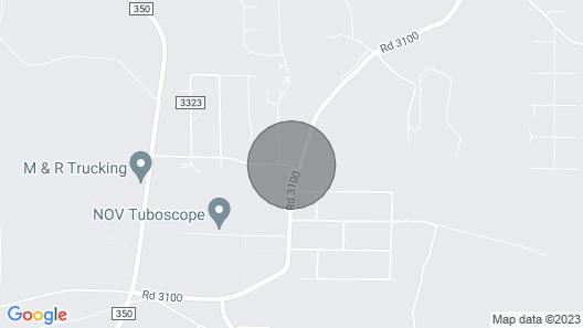 Comfortable Home on the Mesa Map